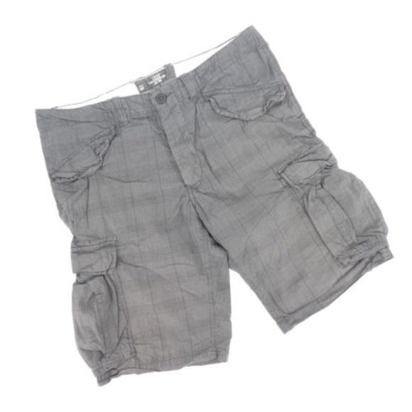 730e9949d7 H&M Shorts   Hm Logg Regular Fit Plaid Long Cargo   Poshmark